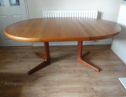 Midcentury Retro And Vintage Dining Tables Retro Danish Teak