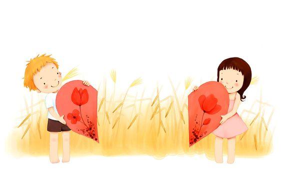 niña con corazón - Buscar con Google