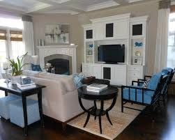 how to arrange living room furniture with corner fireplace - Google Search