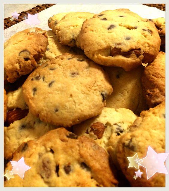 アーモンドチョコクッキー