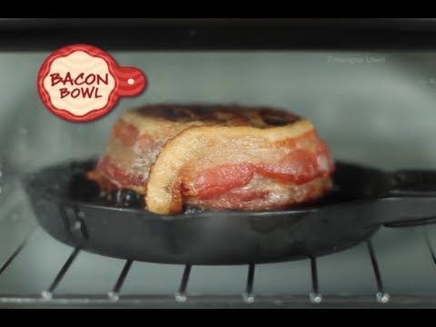 Bacon Bowl Commercial Bacon Bowl As Seen On TV Bacon Cup Maker | As Seen On TV Blog - YouTube