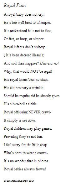 What do you think of my new poem?