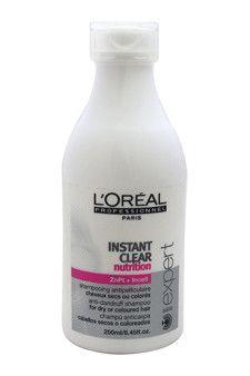 Serie Expert Instant Clear Nutrition Anti-Dandruff Shampoo L'Oreal Professional 8.45 oz