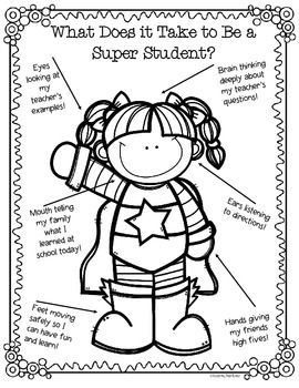 FREE! Create positive behavior expectations in your classroom with these cute posters and guide!