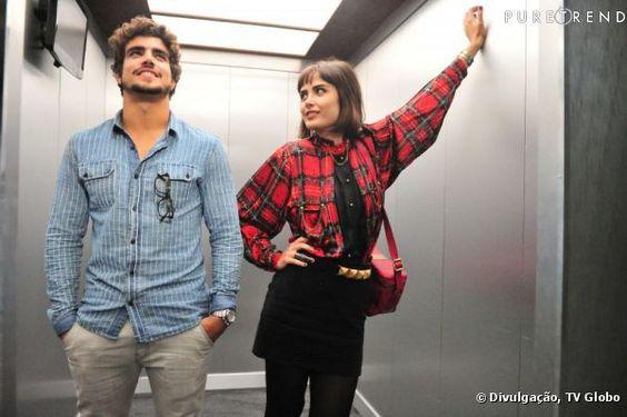 Caio Castro e Maria Casadevall