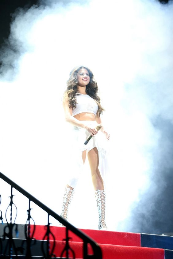 She loves you like a smoky love song. Selena Gomez performs on Nov. 21 in Minneapolis