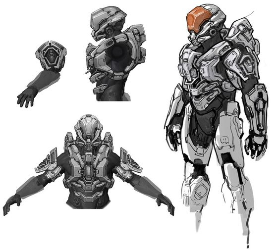Halo 4 Art & Pictures,  Rogue Armor