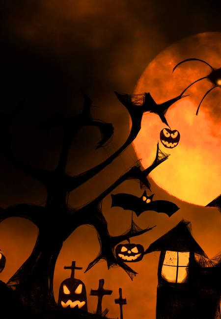 The Effect Of Light Vivid Colors Fragment Free Halloween Image Halloween Live Wallpaper Happy Halloween Pictures Stock Images Free