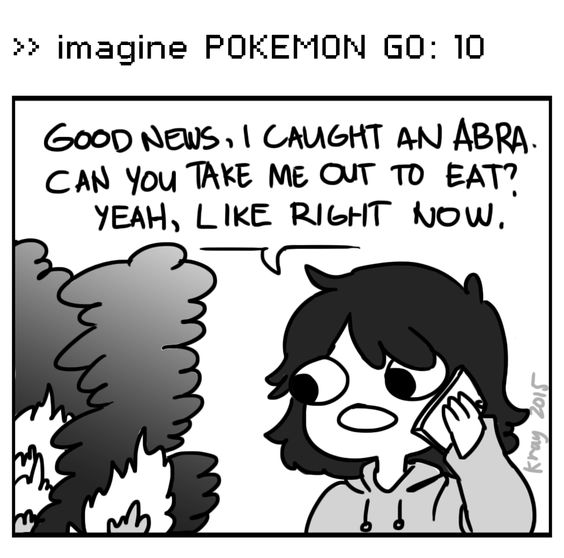 You should probably fix that first  Imagine Pokemon GO