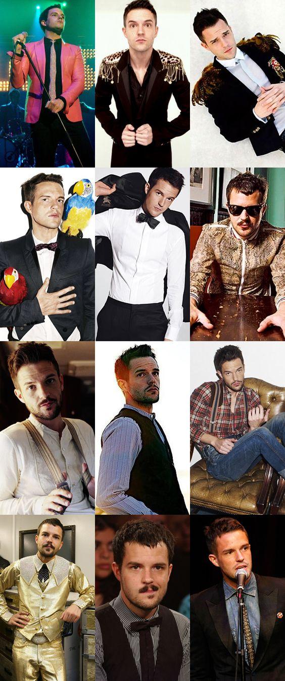 Brandon Flowers is a rocker fashion icon