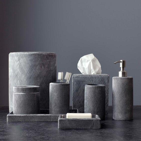 Kassatex Mesh Bathroom Accessories - AMH-