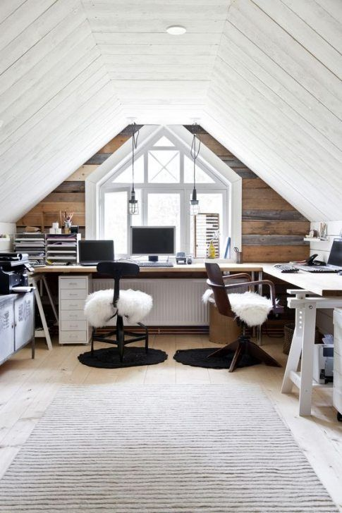 Bedroom With Office Loft Home Office Home Decor And Interior Decorating Ideas Attic Design Attic Rooms Home