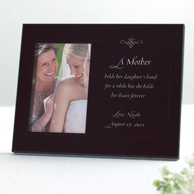 To My Mother Wedding Photo Frame | Mother of The Bride Photo Frame