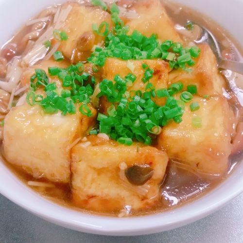 あんかけ レシピ 豆腐