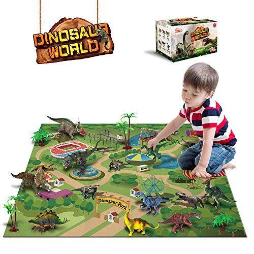Dinosaur Toys 12 Pcs Dinosaur Figures Activity Play Ma Https Www Amazon Com Dp B07tjsqf2j Ref Cm Sw R Pi Dp U X Rm 3dba5257tf Dinosaurs Figures