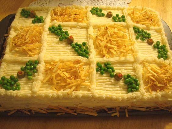 Cozinha da Tia Lucinha: Torta fria de pão de forma