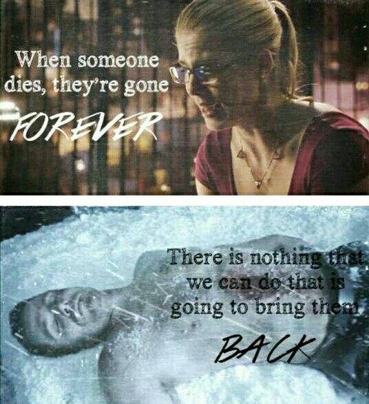 I hated seeing Felicity fall apart like this