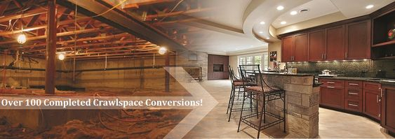 Crawl Spaces Basements And Spaces On Pinterest