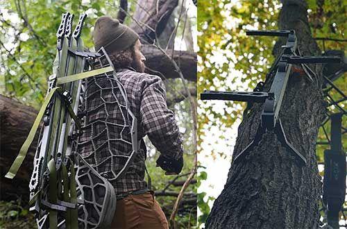 8 Xop Aluminum Climbing Sticks For Treestands In 2020 Climbing Stands Climbing Tree Support