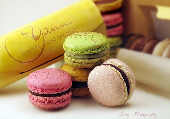 even the packaging is divine! Yann Haute Patisserie, Calgary, AB