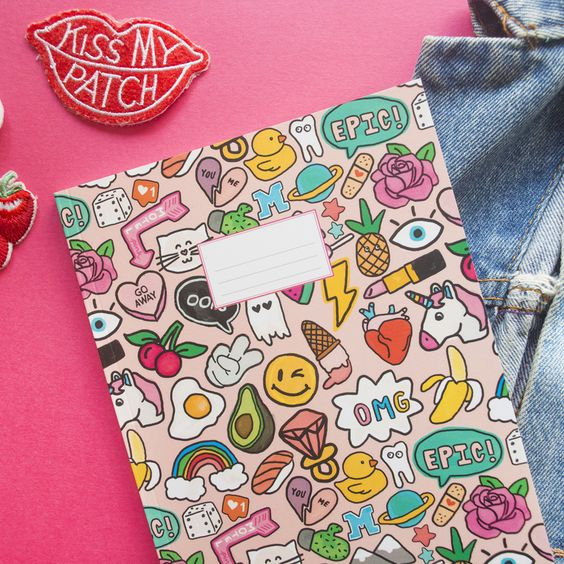 """Image of Cuaderno """"OMG! Parches"""""""