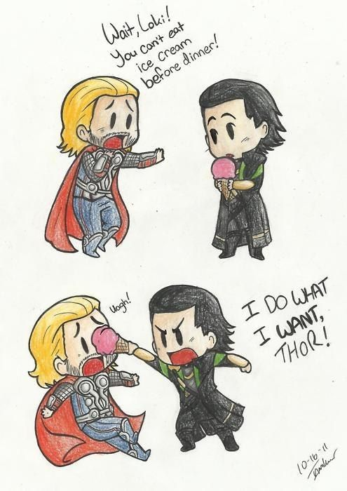 I do what I want, Thor!