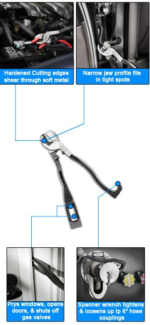 Channellock: The 89 Rescue Tool with Cable Cutter - TheFireStore