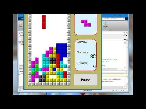 Matlab Tetris Game Source Code Youtube With Images Tetris