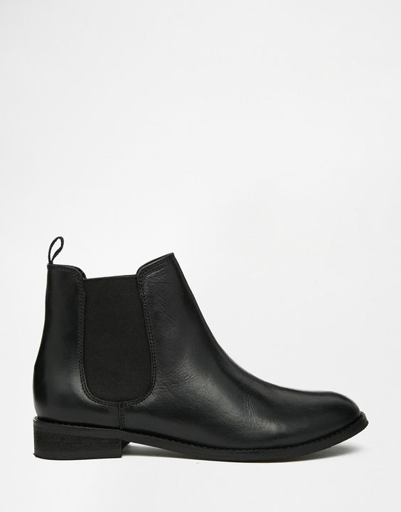 Image 3 of ASOS AIRBOUND Leather Chelsea Ankle Boots:
