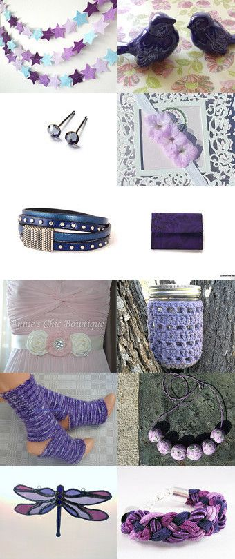 shades of lavender  by Karen on Etsy--Pinned with TreasuryPin.com