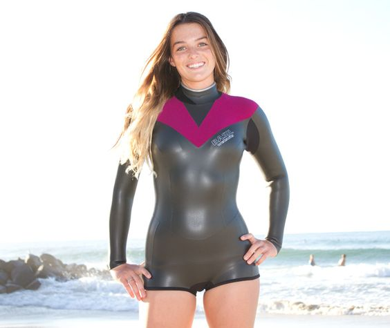 how to wear mens wet suit