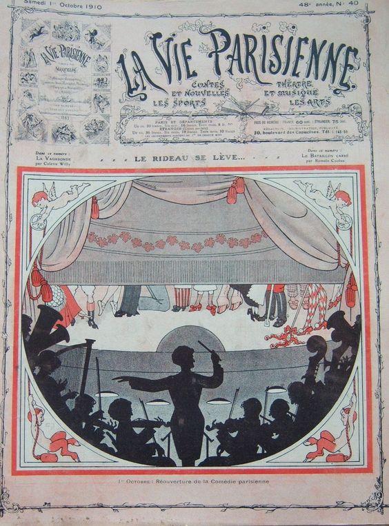 La Vie Parisienne, 1 Octobre 1910. [Pinned 14-vii-2015]