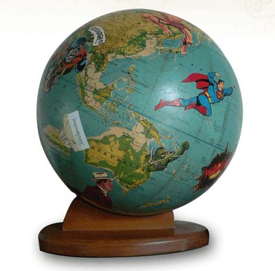 Globe by wendy gold map pinterest alrededor de los mundos globe by wendy gold gumiabroncs Gallery