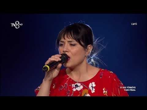 Lutfiye Ozipek Unutamam O Ses Turkiye Yari Final Youtube Finaller Ses Youtube