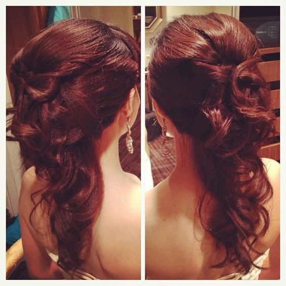Admirable 1000 Images About Wedding Hair Styles On Pinterest Updo Short Hairstyles Gunalazisus