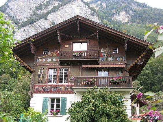 Swiss Chalet On Way To Habkern To Interlaken Cabin Fever