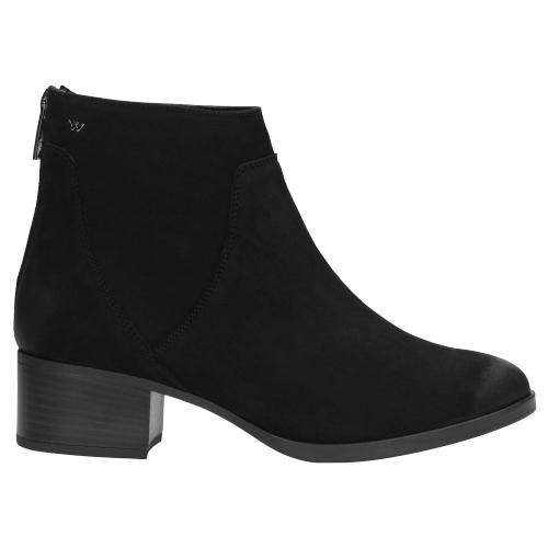 Czarne Botki Damskie 9567 21 Ankle Boot Boots Shoes