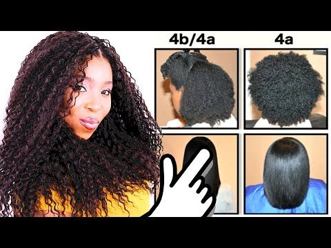 Natural Hair Types Explained In Detail W Pictures 4c 4b 4a Hair Chart Youtube In 2020 Natural Hair Types Natural Hair Styles Hair Type Chart