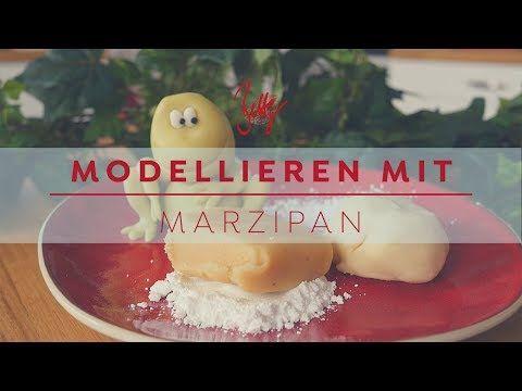 Modellieren mit marzipan