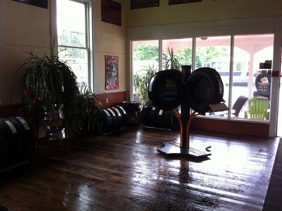 Not your average tire showroom @kenwoodtire, via Flickr