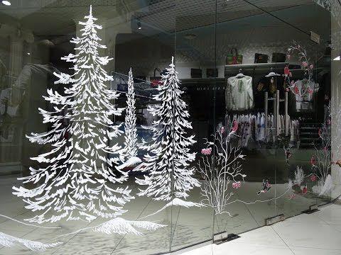 Rospis Vitrin Markerami Dlya Okon Youtube Woodworkingtoolsworkshop Woodworki Basteln Weihnachten Fenster Fensterbilder Weihnachten Deko Weihnachten Fenster
