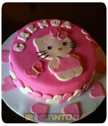 Torta de cumpleaños Kitty 2