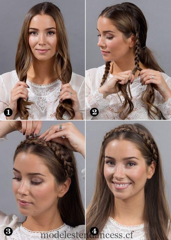 Coiffures Mexicain Moderne Tresses Simple Tendances De La Mode Coiffure Facile Coiffures Decoiffees Coiffure