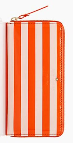 Striped wallet by #katespade $62 after code: MARCHSALE http://rstyle.me/n/g5b2hnyg6