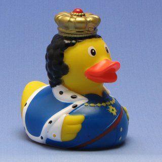 Badeend Koning Ludwig in de duck-shop.nl winkelen