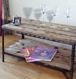 Diy fabriquer meubles industriels tuto meubles et objets - Fabriquer meuble industriel ...