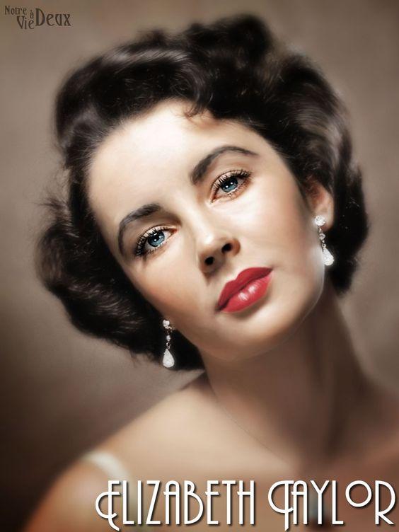 Dame Elizabeth Rosemond Taylor, communément appelée Liz Taylor, est une actrice britannico-américaine, née le 27 février 1932 à Londres, dans le quartier d'Hampstead, et morte le 23 mars 2011 à Los Angeles. En 1999, l'American Film Institute distingue Elizabeth Taylor de la septième plus grande actrice de tous les temps dans le classement AFI's 100 Years… 100 Stars.
