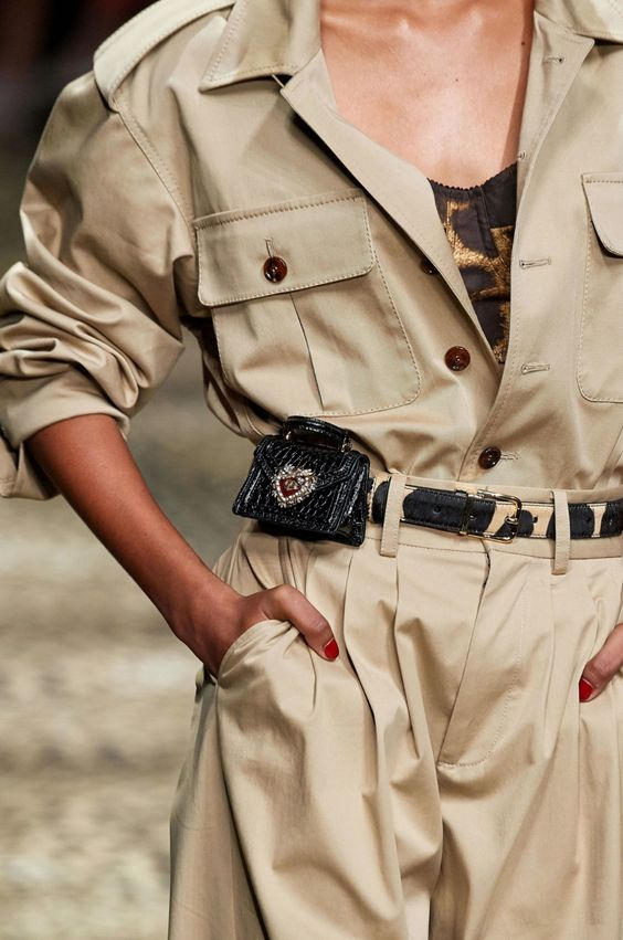 Mini Dolce Gabbana  belted bag Spring Summer 2020.