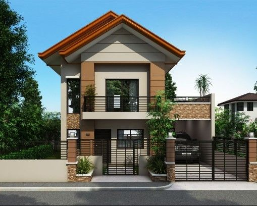 Icymi House Design Philippines 2 Storey In 2020 Simple House Design Modern House Plans Small House Design