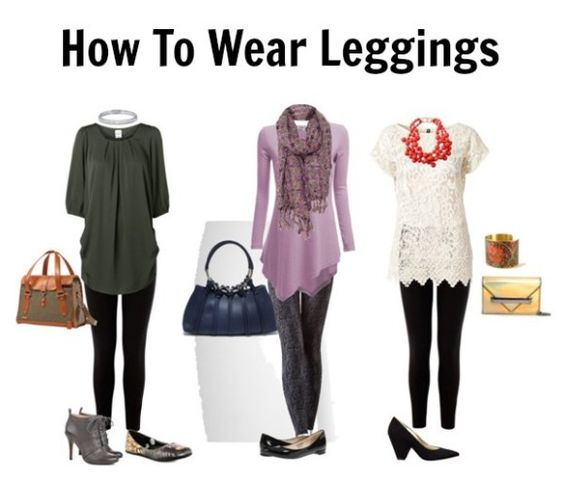 Great tips on how to wear leggings, for all the girls that want to wear them as pants.BIG NO NO: